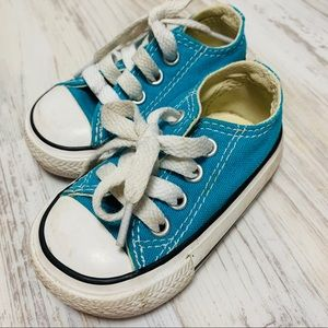 Converse Chuck Taylor All Star Low Tops Teal 3
